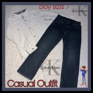 Calvin Klein... Casual Outfit for Boy